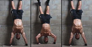 Press HSPU Crossfit Latina