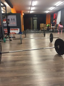 CrossFit Latina WOD 2015-12-29