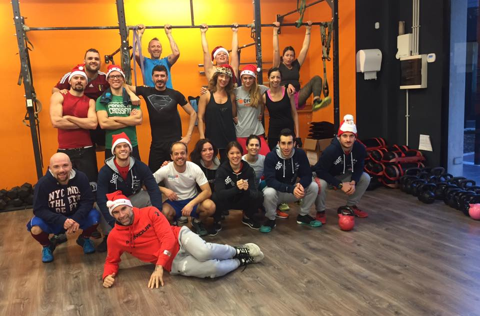 CrossFit Latina WOD 2015-12-31