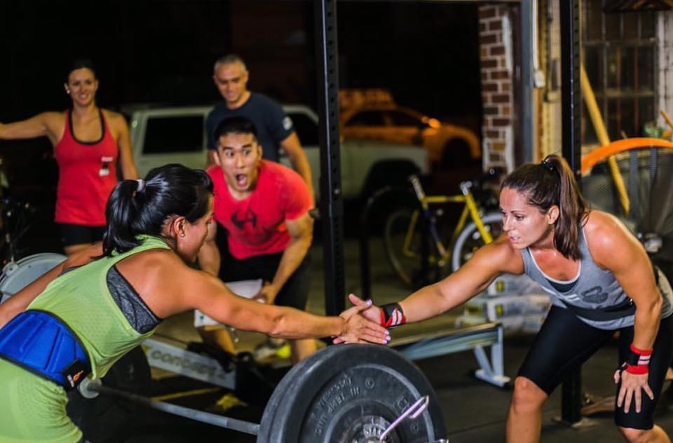 CrossFit Latina WOD 2016-09-14