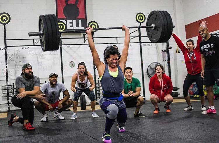 CrossFit Latina WOD 2016-10-14