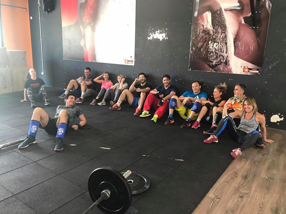 CrossFit Latina WOD 2017-04-24
