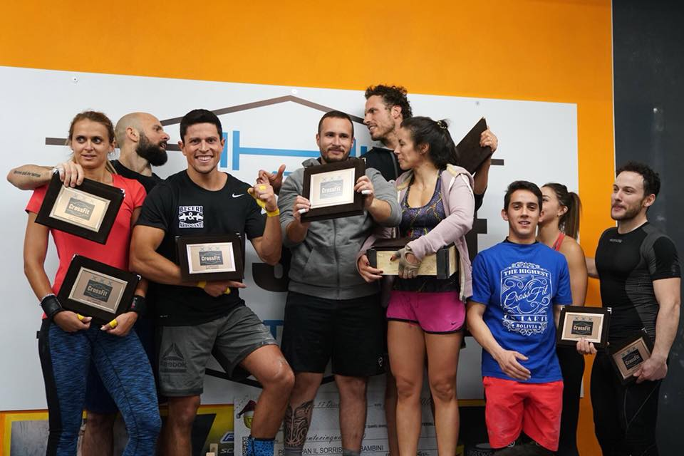 CrossFit Latina WOD 2018-01-08